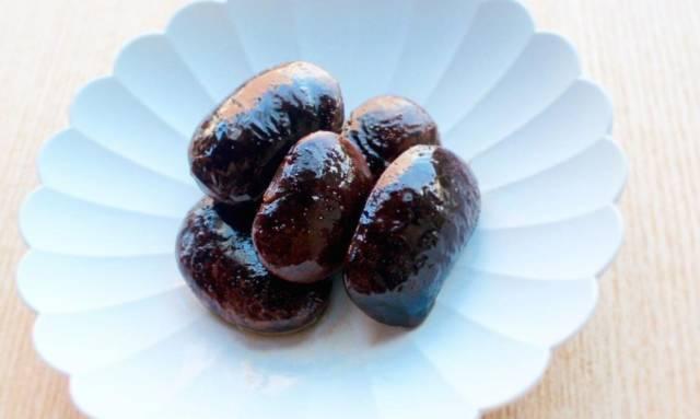 紫花豆の煮豆