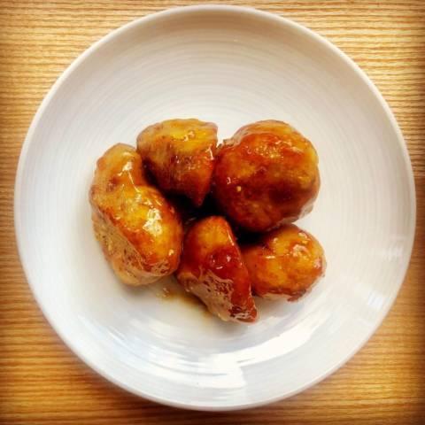 里芋の山椒照り焼き