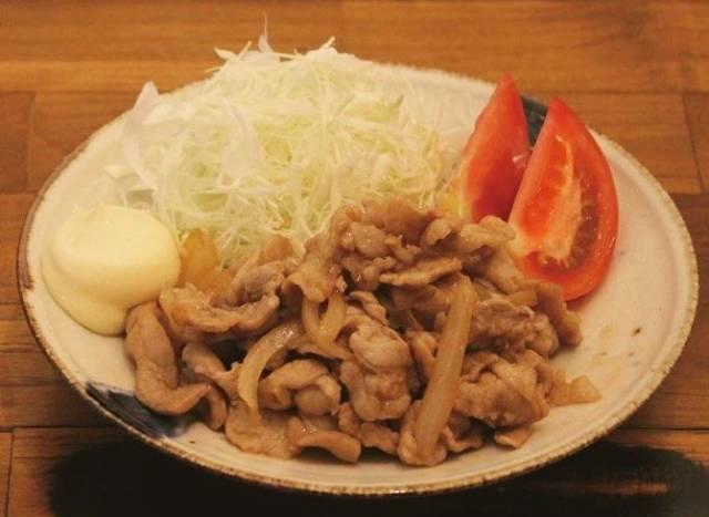 簡単豚の生姜焼き