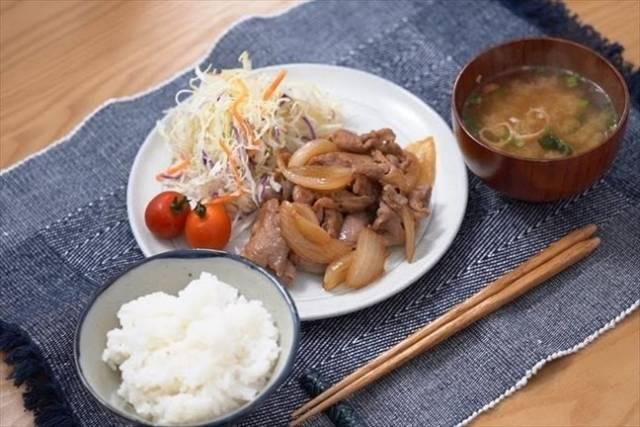 和食の定番豚の生姜焼き
