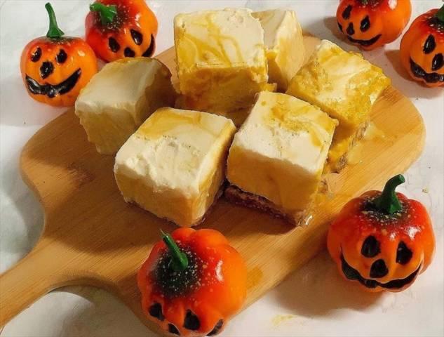 ヴィーガンかぼちゃチーズケーキ