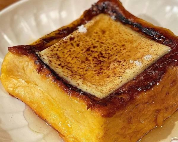 焦がしチーズフレンチトースト