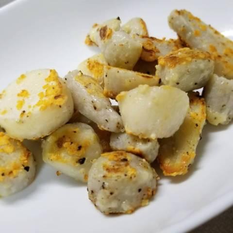 里芋のこんがりチーズソテー