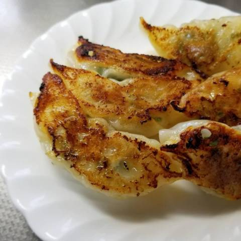 ニラ焼き餃子