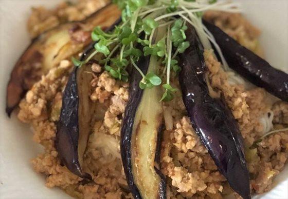 ヘルシー坦々ナス麺