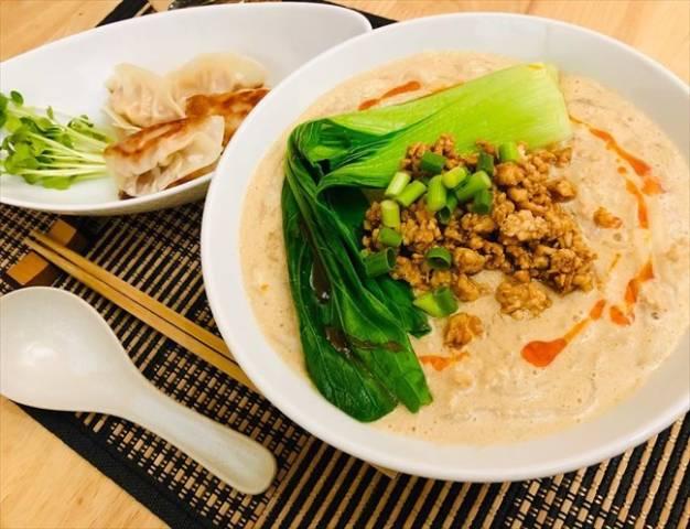 ヘルシー豆乳坦々麺