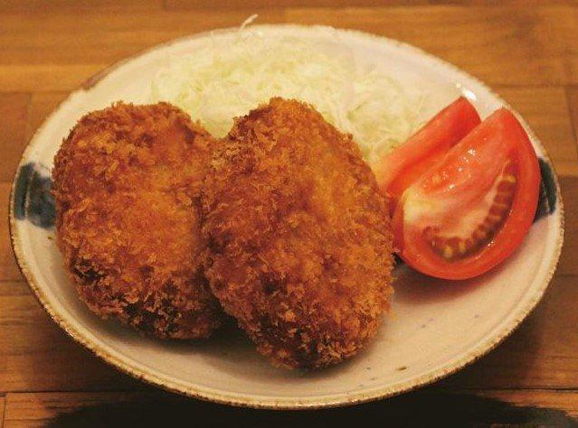 北海道産ジャガイモのコロッケ