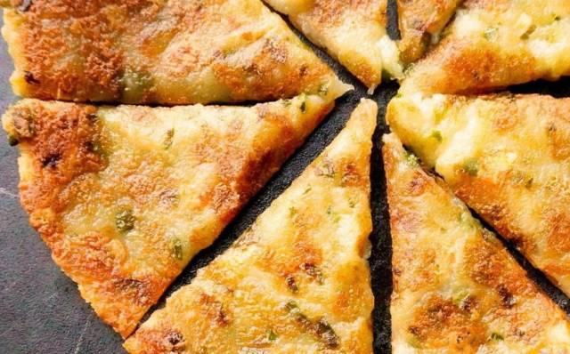 ジャガイモとチーズのお焼き
