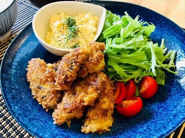 手作り牡蠣フライ