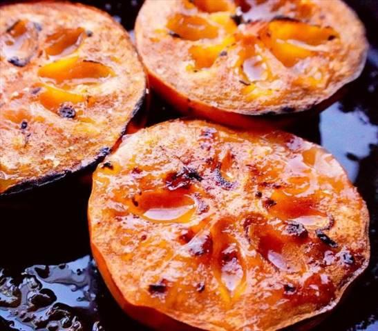 柿のオーブン焼き