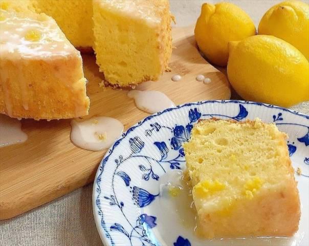 レモンのシフォンケーキ