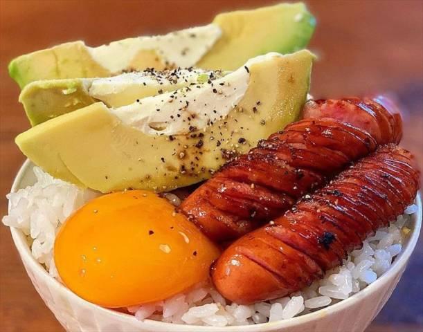 モリモリ簡単卵かけご飯