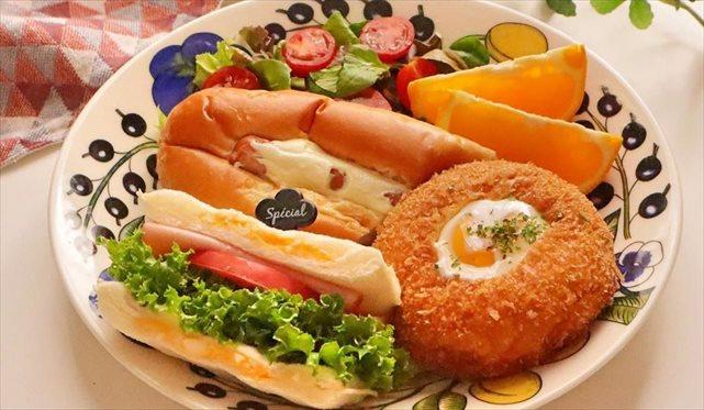 惣菜パンを簡単アレンジ