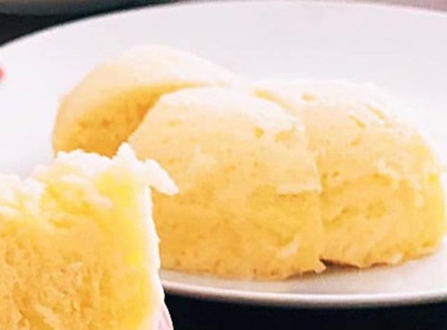 混ぜるだけレンジ3分たまごパン