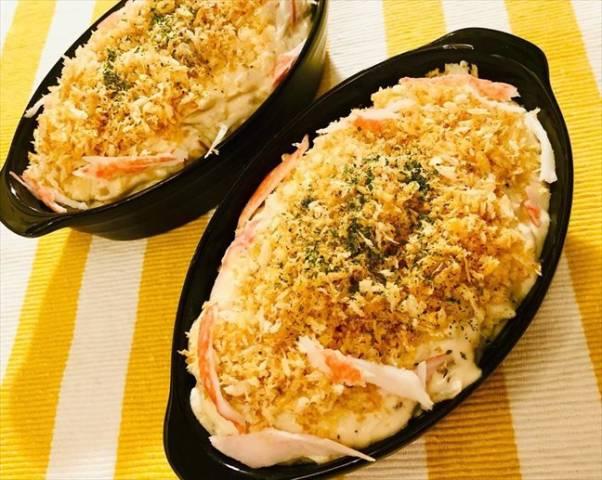 豆腐カニクリームスコップコロッケ