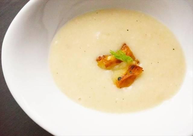 焼き茄子のスープ