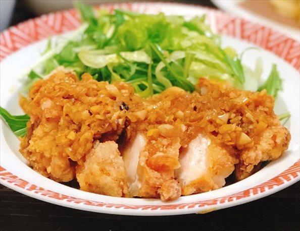 中華の油淋鶏